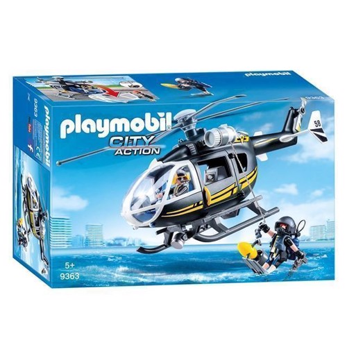 Image of Playmobil 9363 Sek Helikopter