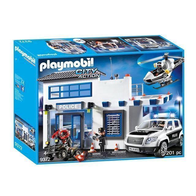 Ultramoderne Playmobil 9372 Politistation med politibil køber du billigt her. CT-75