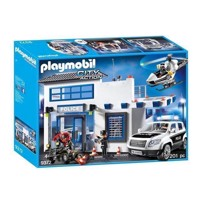 Playmobil 9372 Politistation med politibil