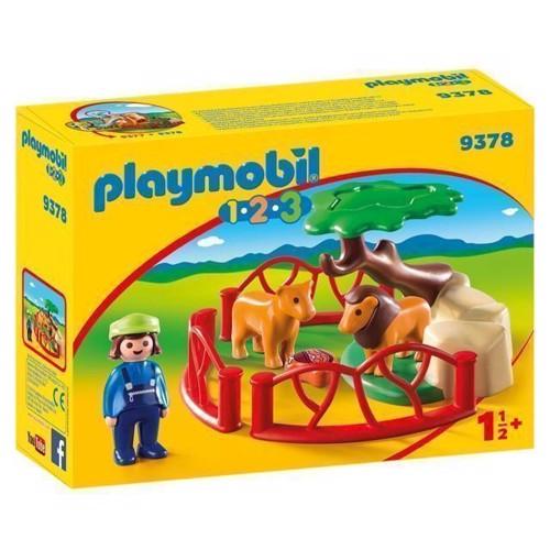 Image of Playmobil 9378 Løveindhegning (4008789093783)