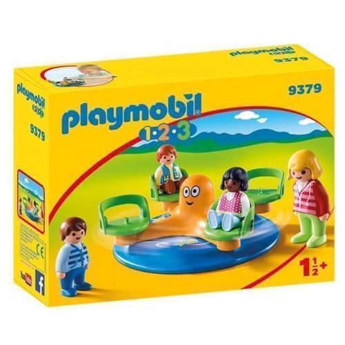 Image of Playmobil 9379 Børnekarussel (4008789093790)