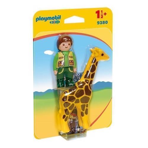 Image of Playmobil 9380 Dyrepasser med giraf (4008789093806)