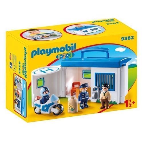 Image of Playmobil 9382 Politistation til at tage med (4008789093820)