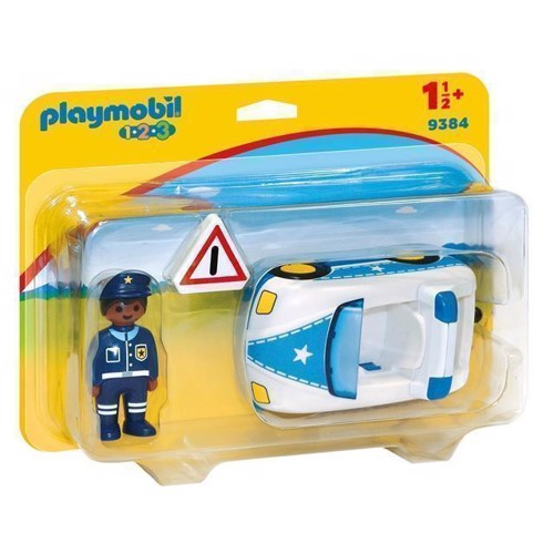 Image of Playmobil 9384 Politibil