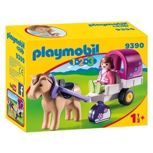 Image of Playmobil 9390 hestevogn (4008789093905)