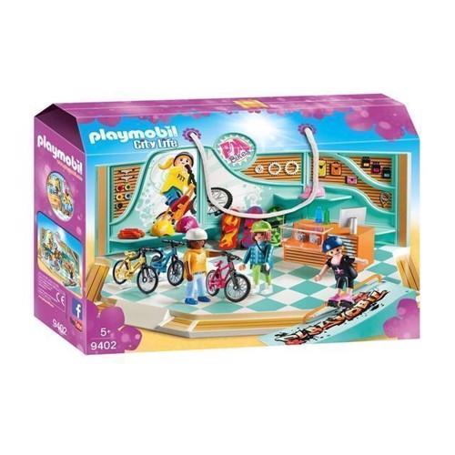 Image of Playmobil 9402 Cykel & skaterbutik (4008789094025)