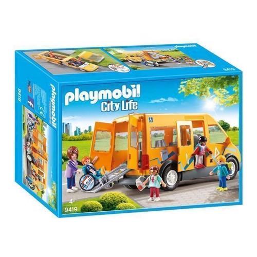 Image of Playmobil 9419 Skolebus (4008789094193)