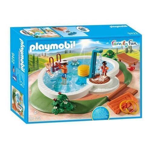 Image of Playmobil 9422 Swimming pool (4008789094223)