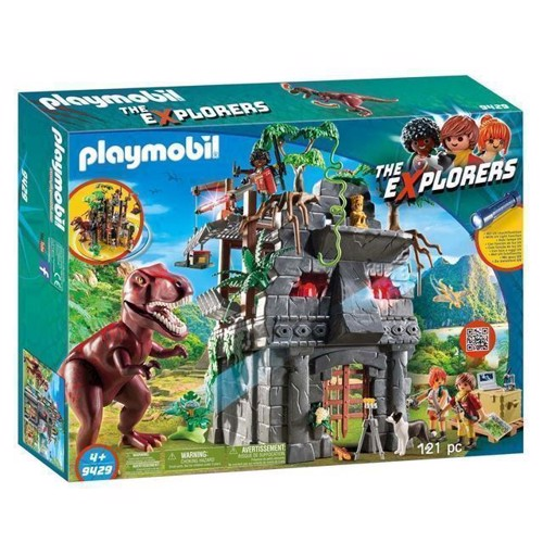 Image of Playmobil 9429 Det hemmelige tempel med T-Rex (4008789094292)