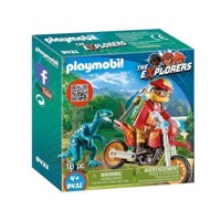 Playmobil 9431 Crosser med Raptor