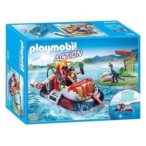 Image of Playmobil 9435 Luftpudebåd med undervandsmotor (4008789094353)