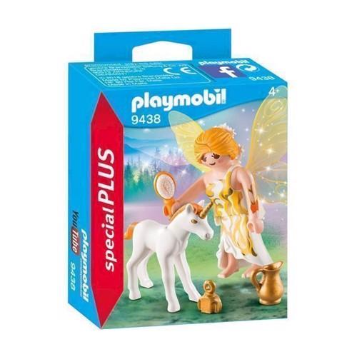 Image of Playmobil 9438 Solfe Med Enhjørning Føl