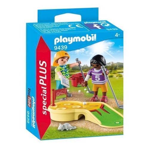 Image of Playmobil 9439 børn med minigolf (4008789094391)