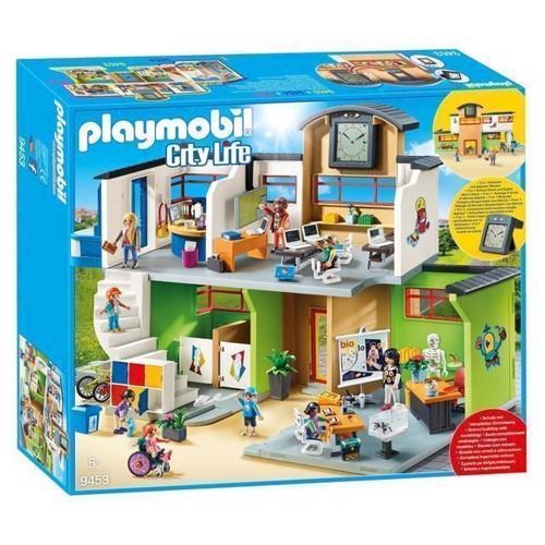 Image of Playmobil 9453 Skole, Møbleret (4008789094537)
