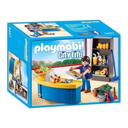 Image of Playmobil 9457 Pedel med kiosk