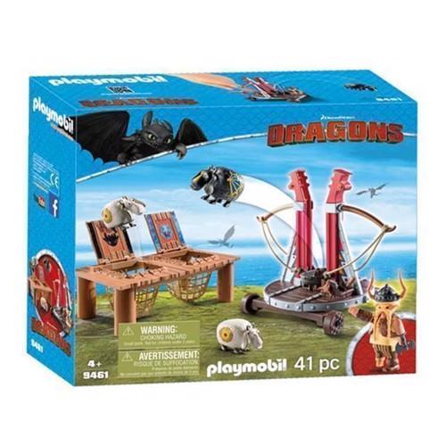 Image of Playmobil 9461 Gobert Knaldræb med fåreslynge (4008789094612)
