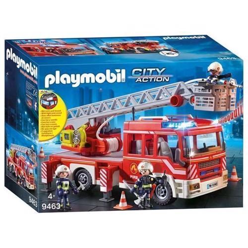Image of Playmobil 9463 Brandbil Med Stige
