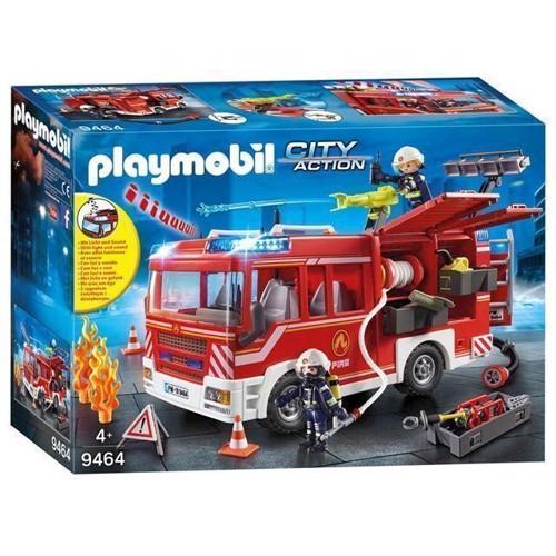 Image of Playmobil 9464 Brandbil, Udrykningsvogn