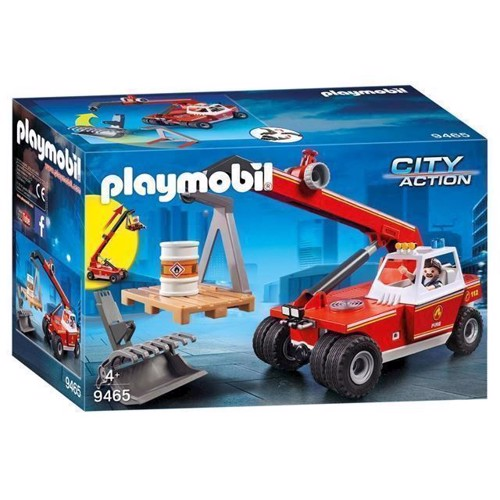 Image of Playmobil 9465 Brandvæsnets Stigevogn