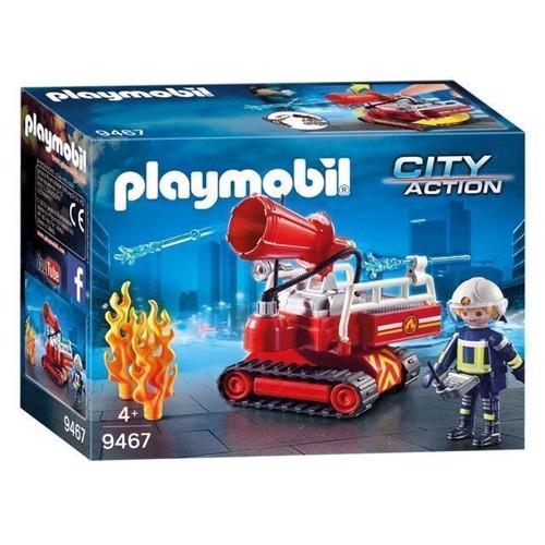 Image of Playmobil 9467 Brandsluknings Robot Med Vand