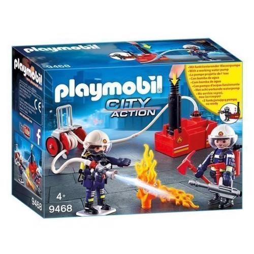 Image of Playmobil 9468 Brandmænd Med Vandpumpe