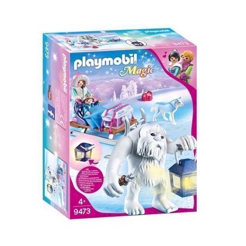Image of Playmobil 9473 Snetrold med slæde (4008789094735)