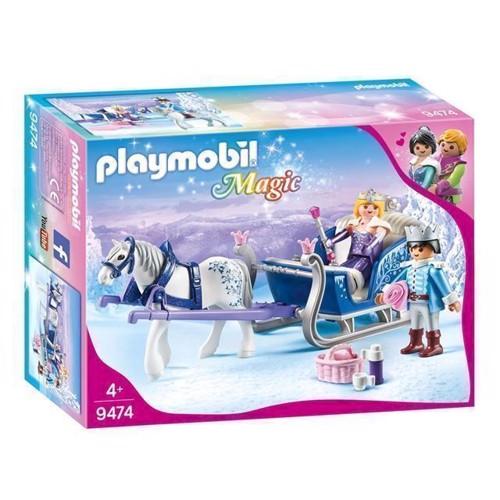 Image of Playmobil 9474 Slæde med kongepar (4008789094742)