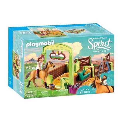 Image of Playmobil Spirit 9478 Hesteboks, Lucky Og Spirit
