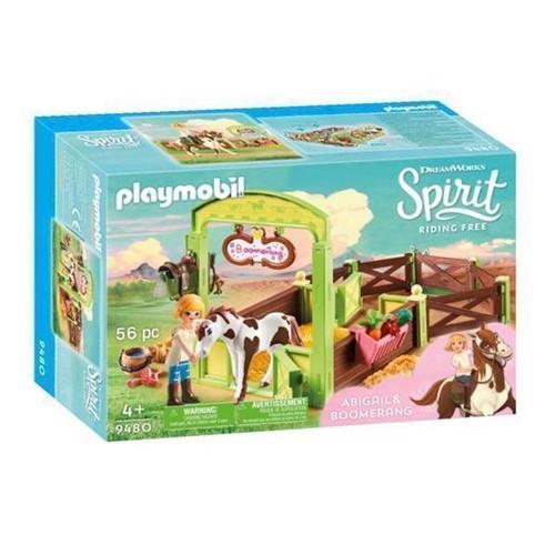 Image of Playmobil Spirit 9480 Hesteboks, Abigail Og Boomerang