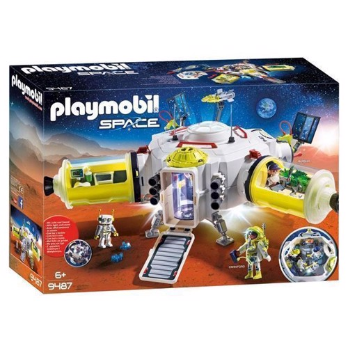 Image of Playmobil 9487 Mars rumstation (4008789094872)