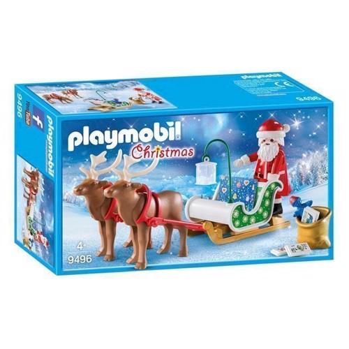 Image of   Playmobil 9496 Julemandens slæde med rensdyr
