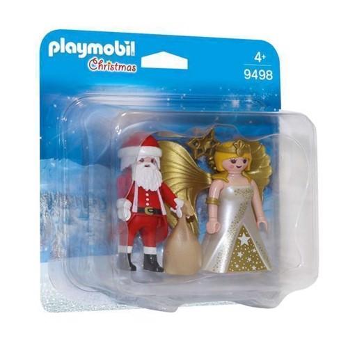 Image of   Playmobil 9498 Duopack Julemand og juleengel