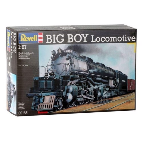 Image of Revell byggesæt Big Boy Locomotive (4009803021652)