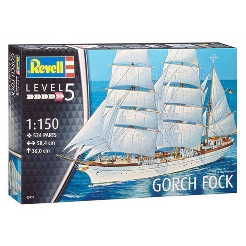 Image of   Revell Byggesæt Gorch Fock