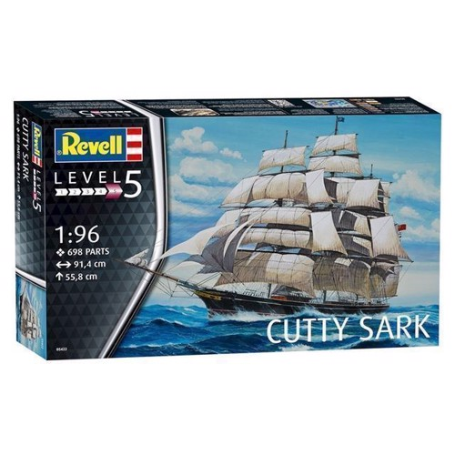 Image of Revell Byggesæt Cutty Sark (4009803054223)