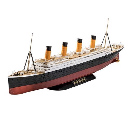 Image of Revell byggesæt, RMS Titanic (4009803054988)