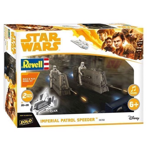 Image of   Revell byggesæt Star Wars Han Solo Imperial Patrol Speeder