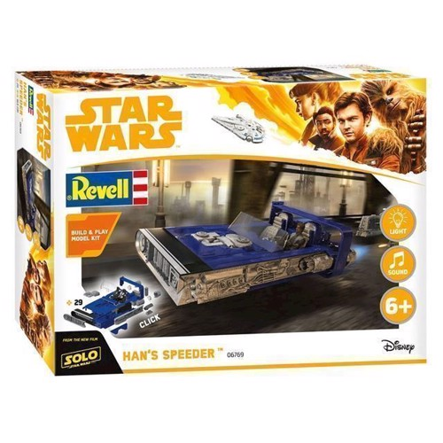 Image of   Revell byggesæt Star Wars Han Solo Hans Speeder