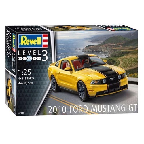 Image of Revell byggesæt 2010 Ford Mustang GT (4009803070469)