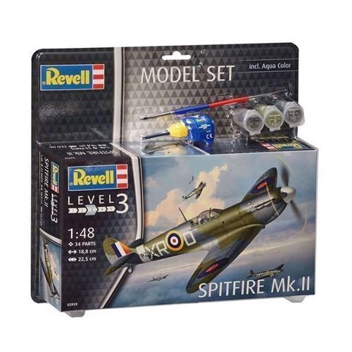 Image of Revell Model Sæt Spitfire Mk.II (4009803639598)