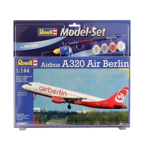Image of   Revell byggesæt Airbus A320 AirBerlin