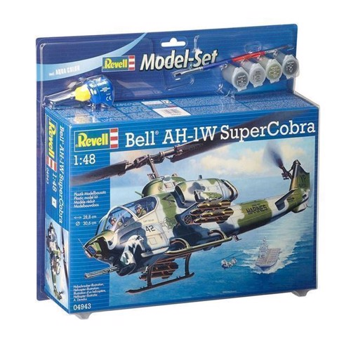 Image of Revell byggesæt Bell AH-1W SuperCobra (4009803649436)