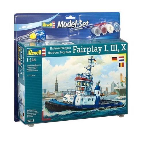 Image of   Revell byggesæt Fairplay Harbor Tug Boat