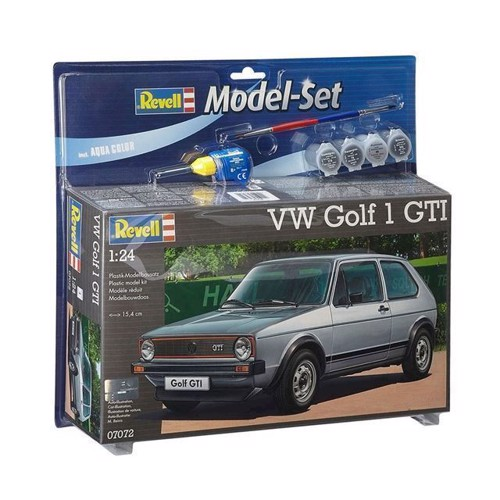 Image of Revell Model Sæt VW Golf 1 GTI (4009803670720)