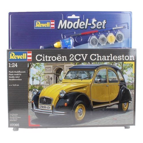 Image of Revell byggesæt Citroen 2CV (4009803670959)