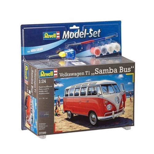 Image of Revell byggesæt VW T1 Samba Bus (4009803673998)