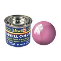 Revell enamel paint # 731-red, Transparent