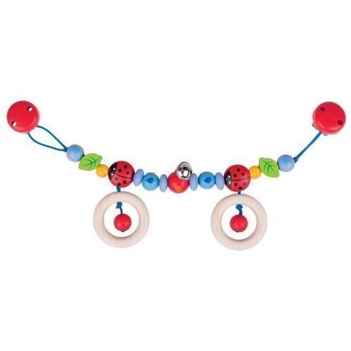 Billede af Barnevogns kæde med mariehøne