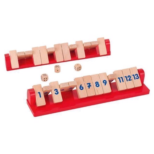 Image of   Shut the Box Tricky 13, 2 spillere