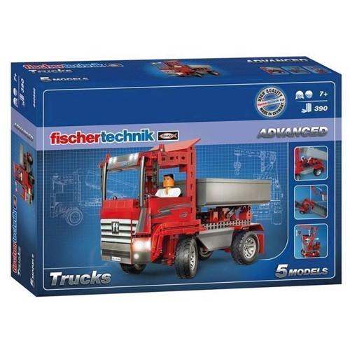 Image of Fischertechnik Advanced byggesæt, arbejdskøretøjer, 390 dele (4048962280029)